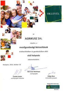 groupama-biztosito-ev-alkusza-dij-2016-oklevel